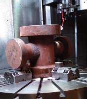 Drill Spool Before Machining